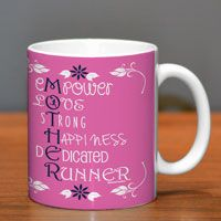 If youre looking for the perfect running gift for the runner in your life, give them this awesome running mug featuring our Mother Runner design.