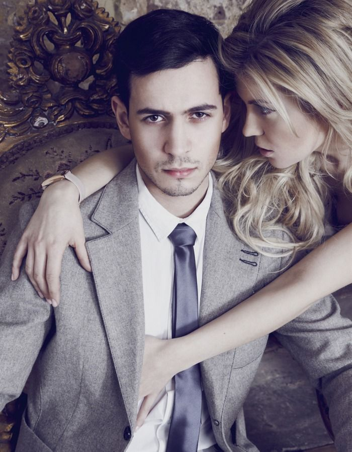 Male models and female models together