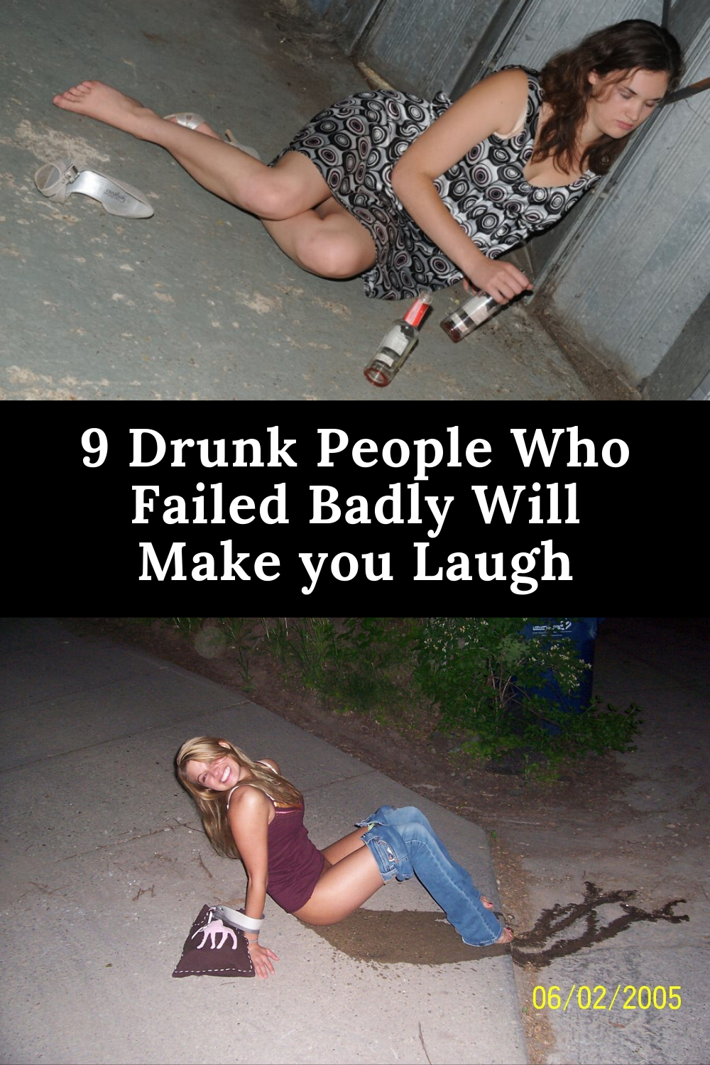 Photo of 9 Drunk People Who Failed Badly Will Make you Laugh