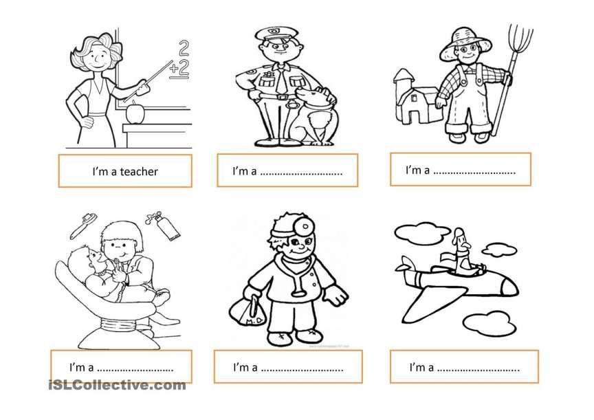 10 Kindergarten Jobs Worksheet In 2020 Kindergarten Worksheets Printable Printable Preschool Worksheets Kindergarten Worksheets