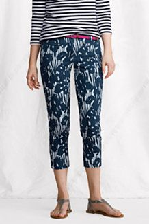 Women's Fit 2 Pattern Chino Crop Pants Price