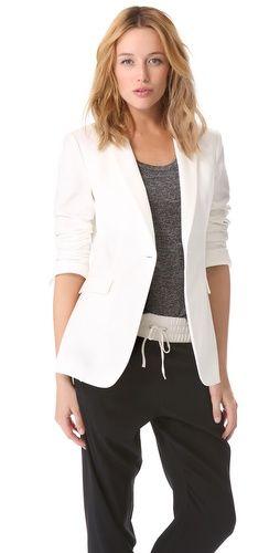 Ashlees Loves: Shoulder Play info @ashleesloves.com #RagAndBone #42ndStreetBlazer #women's #fashion #blazer #style