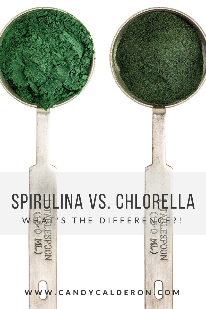 SPIRULINA VS. CHLORELLA