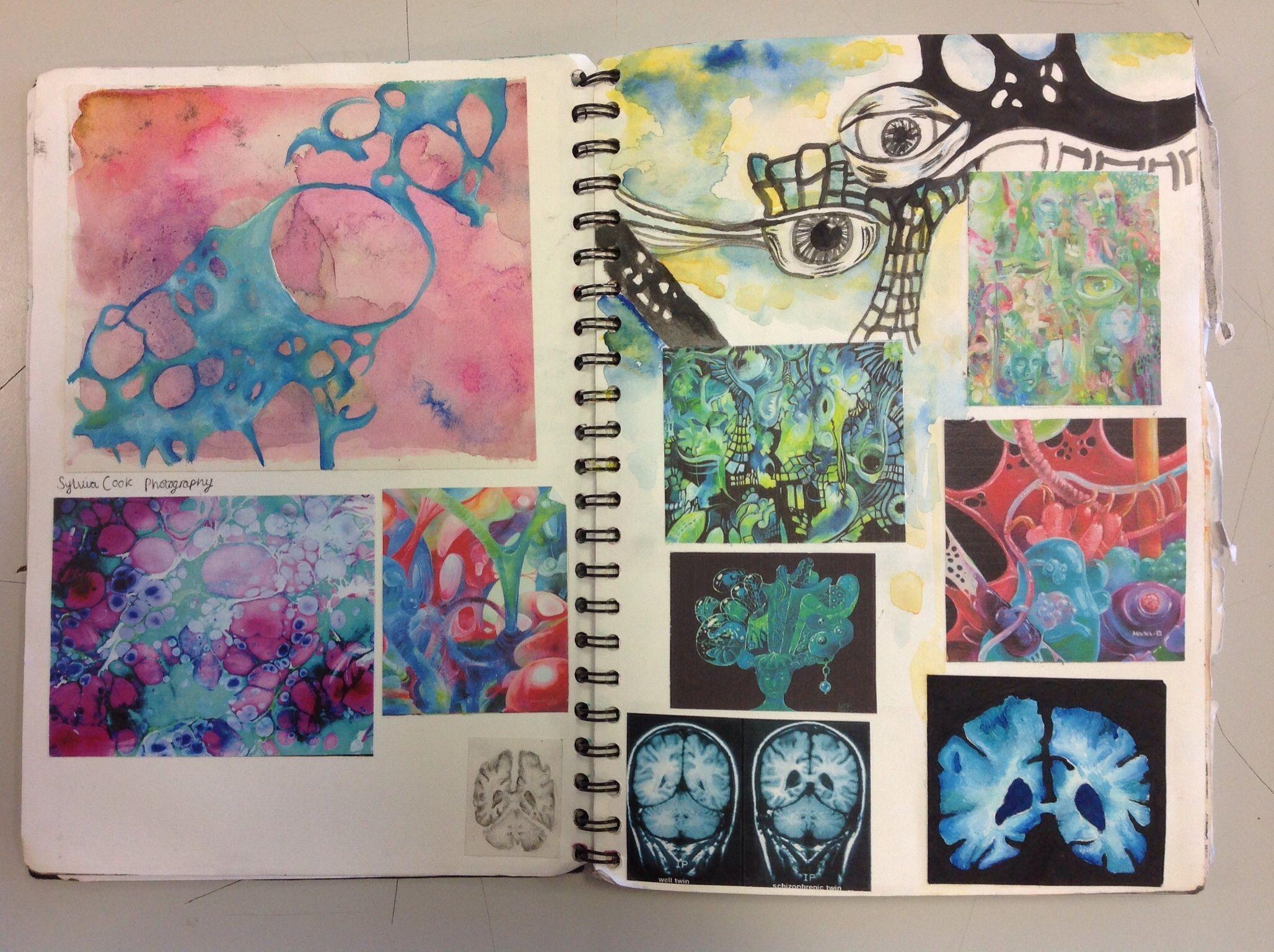 Abstract exploration sketch book sketchbook inspiration