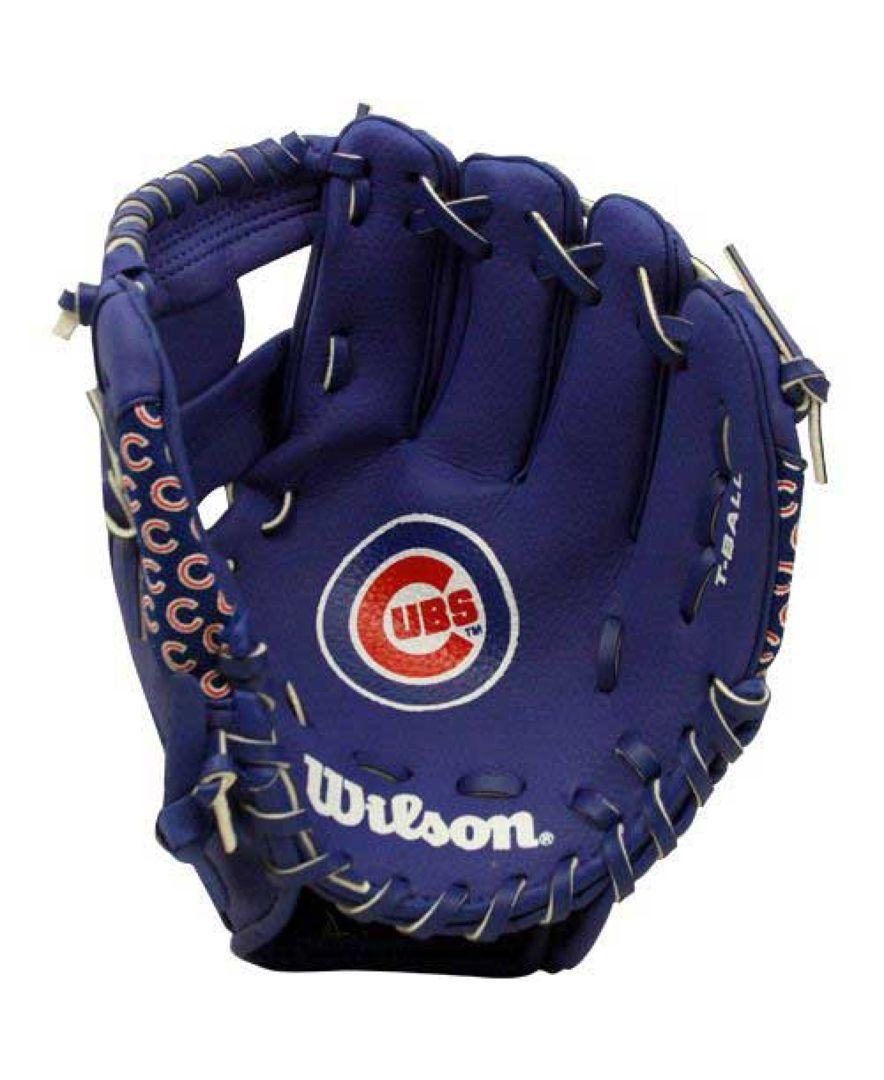 f950b5e32c851 Wilson Sport Chicago Cubs Tee Ball Glove