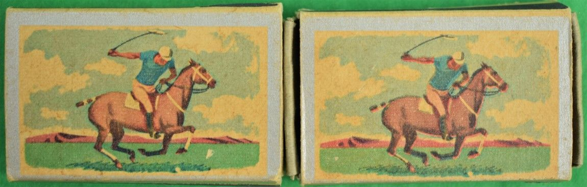 Pair of Ohio Blue Tip Polo Matchbook c1955
