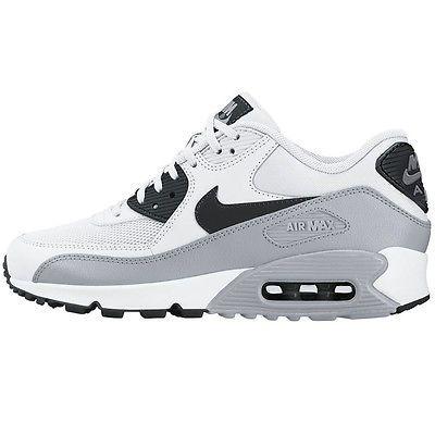 Nike Air Max 90 Essential Womens 616730 111 White Grey Running Shoes Size 8 Nike Air Max Nike Air Max 90 Nike Free Shoes