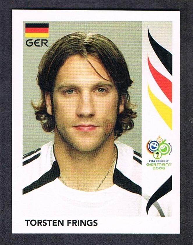 29 Torsten Frings Panini Germany 2006 World Cup Sticker Football Cards Match Attax Football