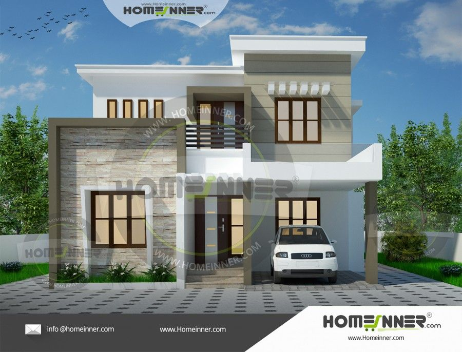 3 Bhk House Plans Under 2000 Sq Ft In India Unique House Design