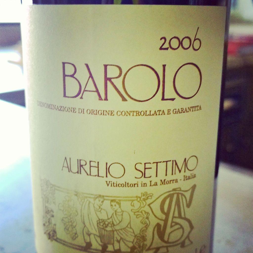 Barolo 2006 Aurelio Settimo Piemonte