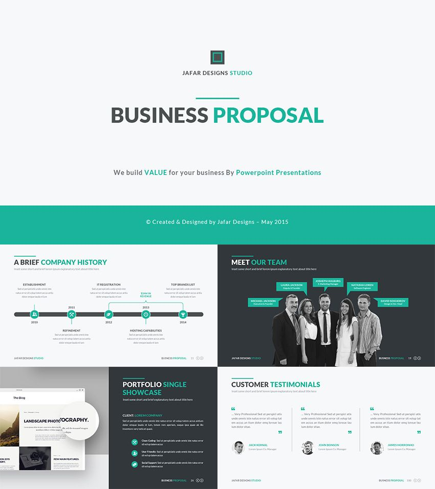 Business Plan Proposal  Ppt Template  Nb  Pitch Decks