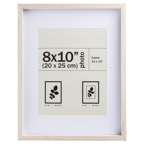 Manhattan Photo Frame - 8in. x 10in. (20cm x 25cm), Oak | Manhattan