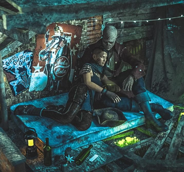 Fallout 3 Fan Art: Video Game Obsession