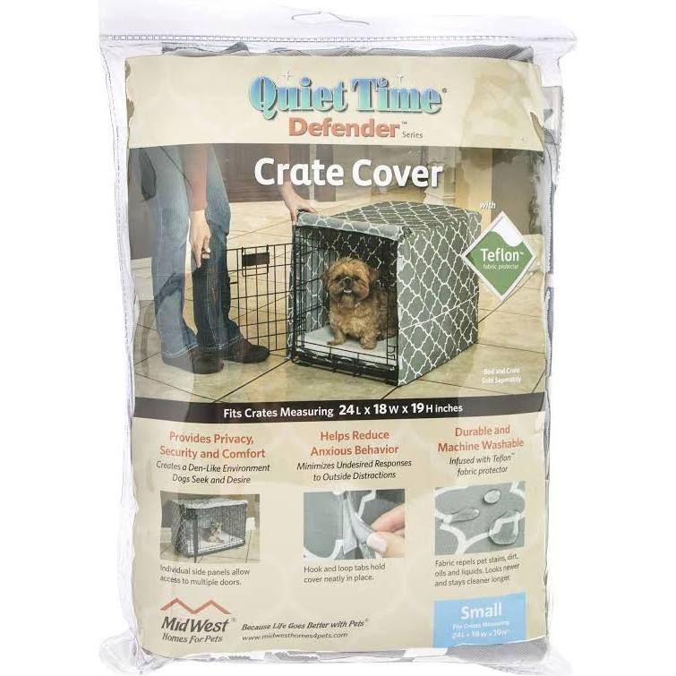 "MidWest Quiet Time Defender, Pet Crate Cover size 24""L x"