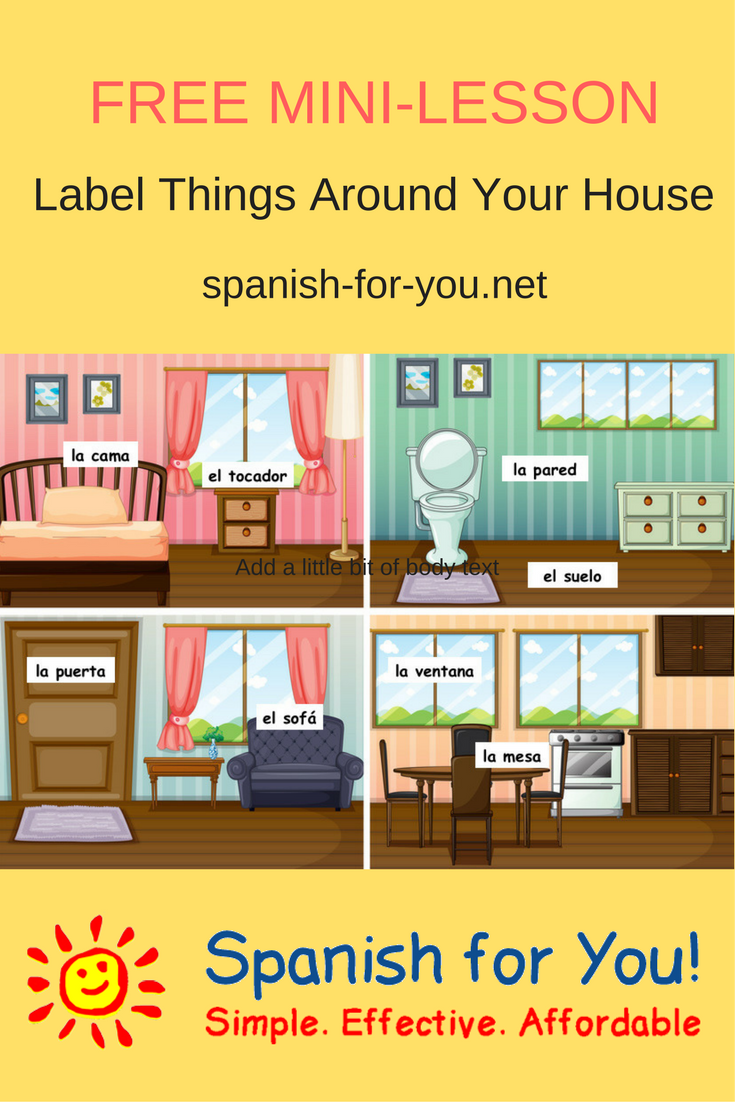 10++ Where is your house in spanish info