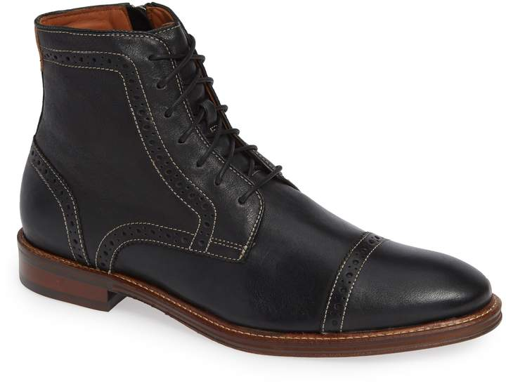 fc5946cf67a Trask 'Andrew Mid' Apron Toe Boot | Fashion | Boots, Nordstrom boots ...