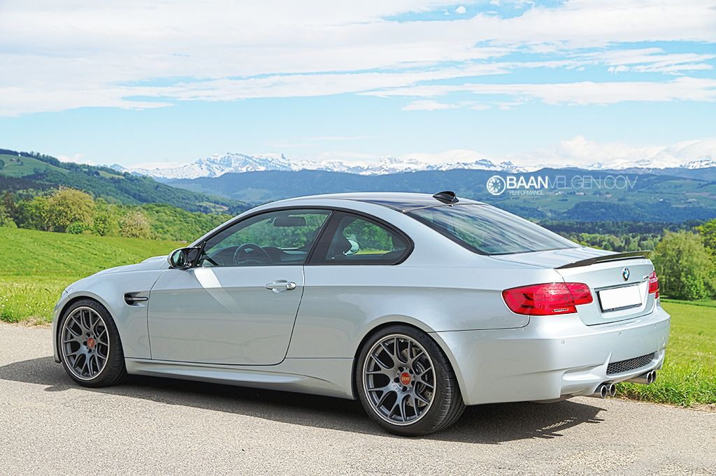 Bmw E92 M3 On 19 Inch Bbs Ch R In Titanium With Images