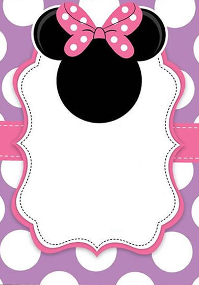 Fondos Para Invitaciones De Minnie Mouse Mega Idea