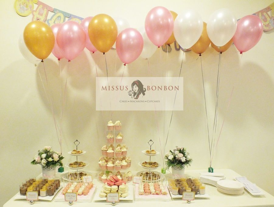 Von Wanted An Elegant Dessert Dessert Table For Her 21st Birthday