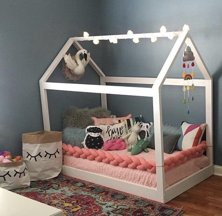 Juju and Jake Braided Crib Bumper | Kinley\'s Room | Pinterest