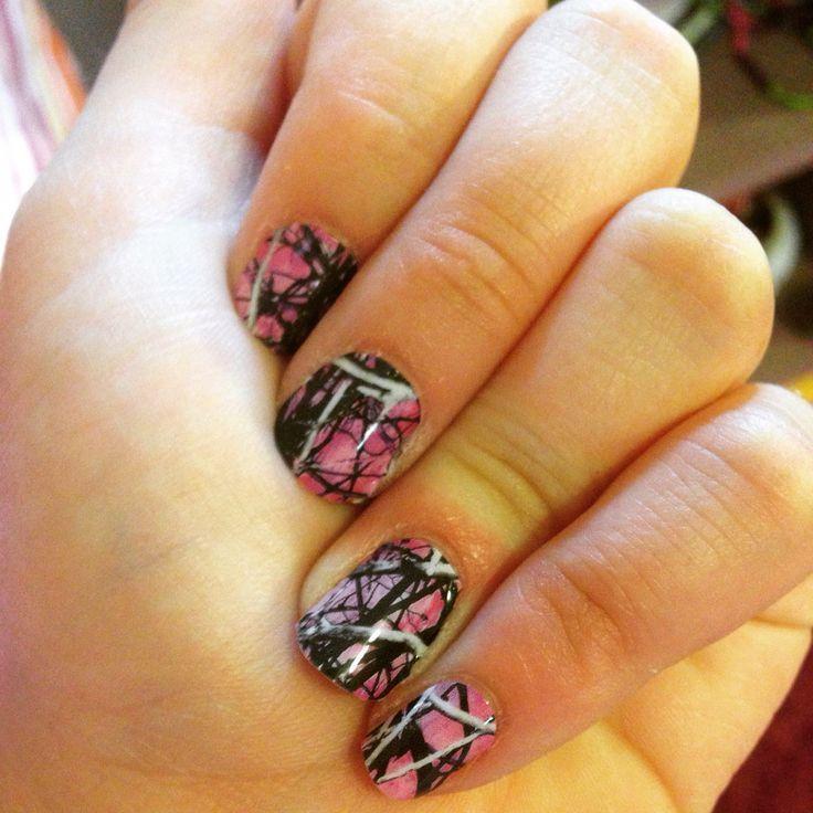 Country Nails: Jamberry Nails Muddy Girl Camo Nail Contact Me At