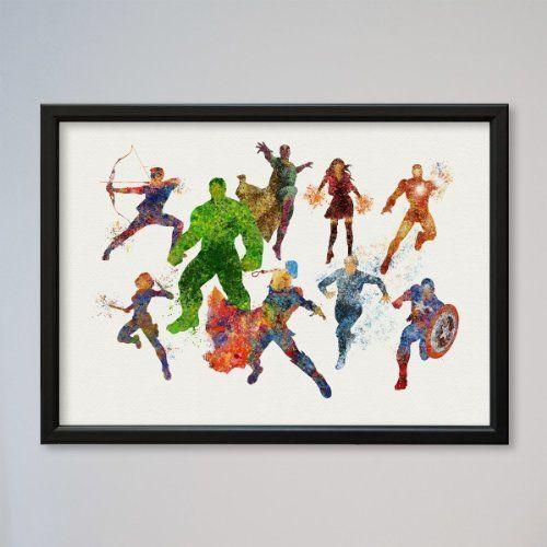 The Avengers Hulk Thor Captain America Iron Man