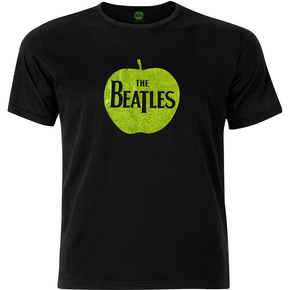 The Beatles Mens Fashion Tee: Apple Wholesale Ref:BTBLKTS02MB