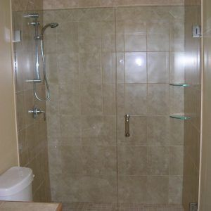 Hang Frameless Shower Door