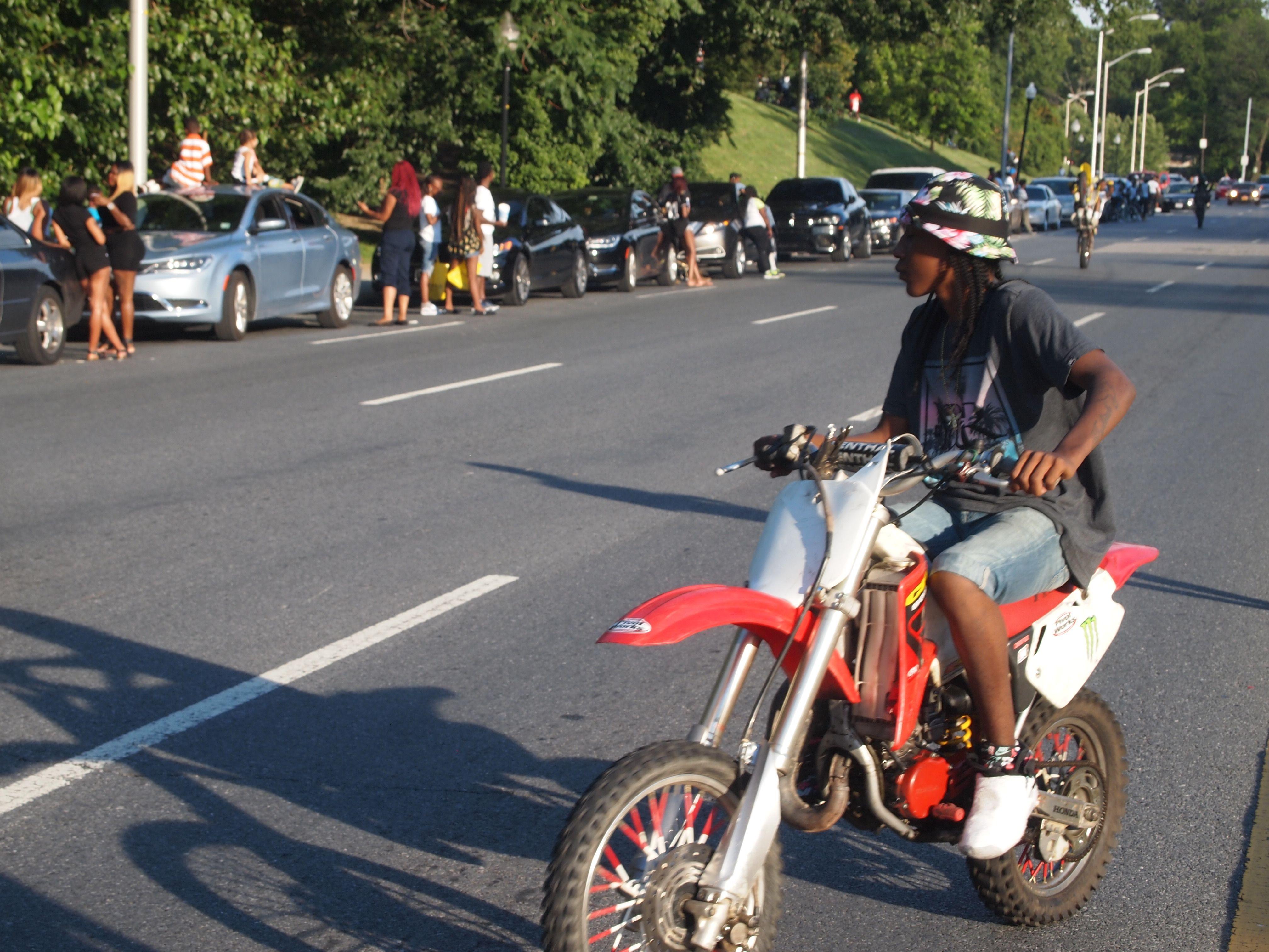 Bikerboypug Pug Bikelife Baltimore Maryland Culture