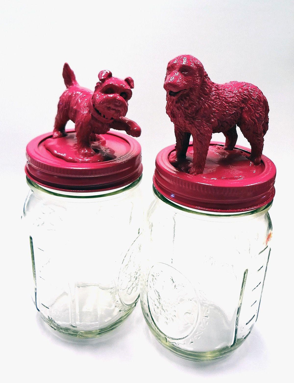 DIY Dog Treat Mason Jar Dog treat jar, Diy dog treats