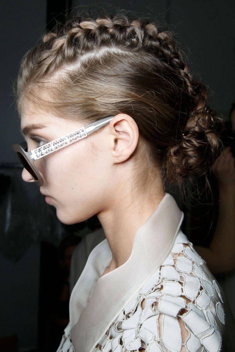 The Best Hair Trends For Spring 2015 Runway Hair Hair Trends Hair Trends 2015