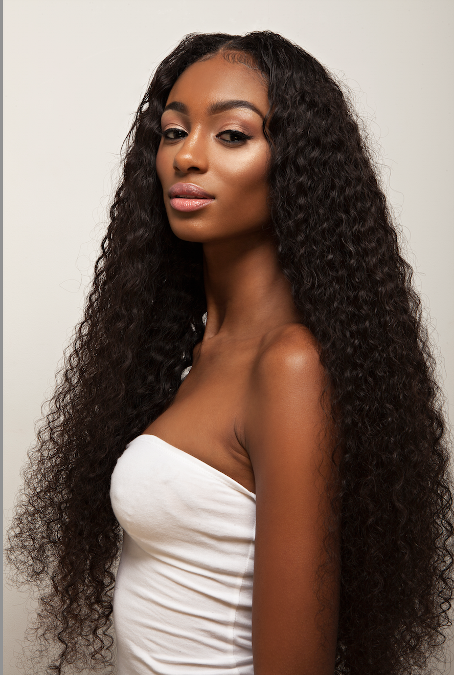 Curly afro hair google search loreal cleansing balms hair extensions unprocessed malaysian virgin kinky curly human hair weave deep curly natural hair products for african american black women grams pack pmusecretfo Image collections