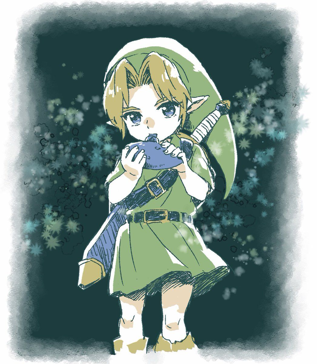 Asama Asariyosi Ocarina Of Time Legend Of Zelda Breath Link Art