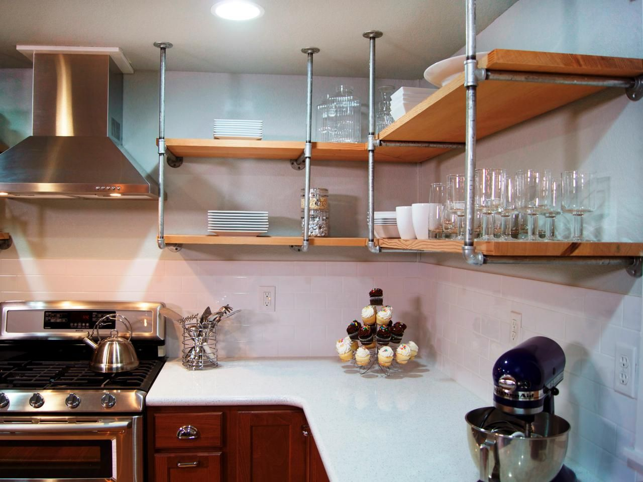 Simple Diy Kitchen Shelf Novocom Top