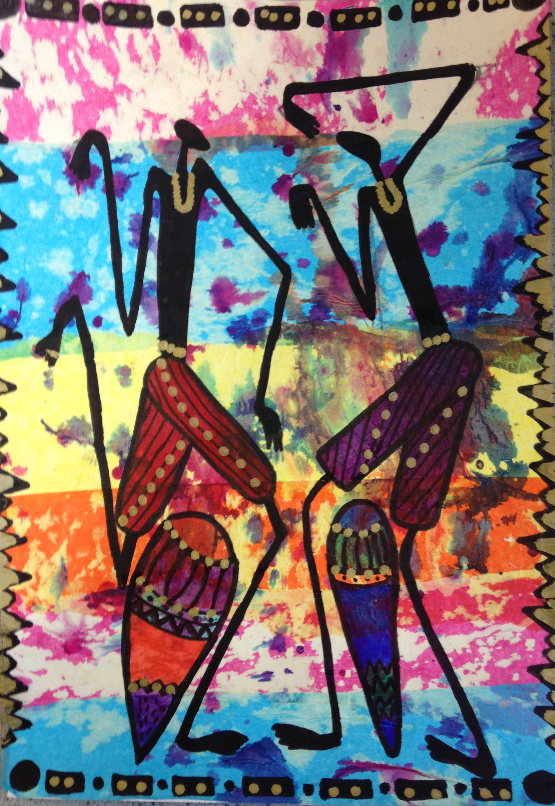 African Art Projects, Art Worksheets, African Masks, Amazing Things, Creative