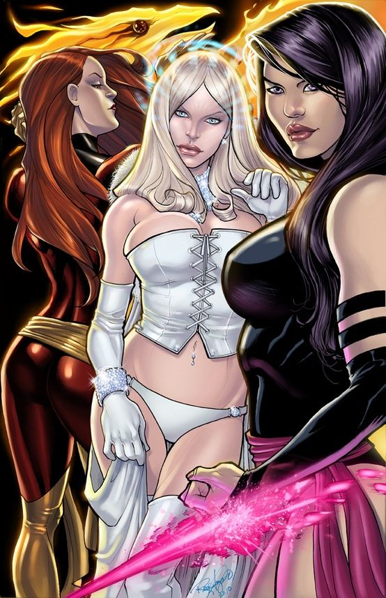 comics girls emma frost - photo #7