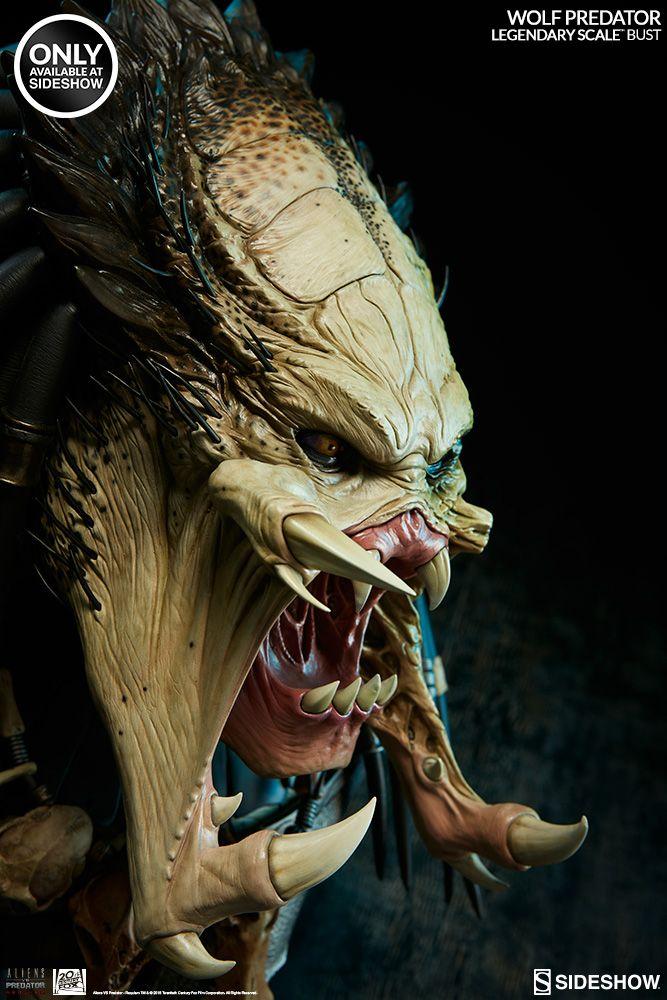 Aliens Vs Predator Requiem Wolf Predator Legendary Scale Bu