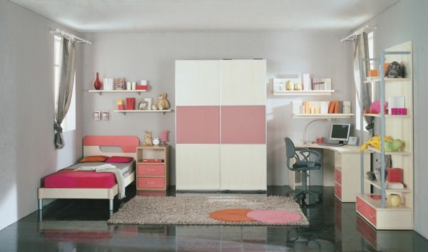 m dchen zimmer einrichtung kinderschreibtisch emma. Black Bedroom Furniture Sets. Home Design Ideas