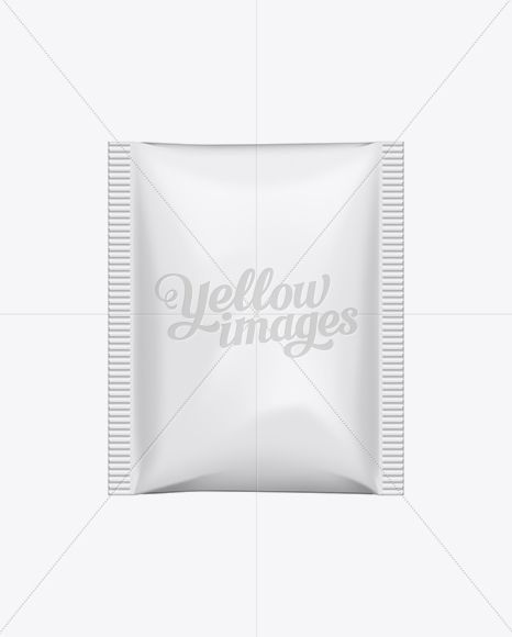 Download Paper Sachet In Sachet Mockups On Yellow Images Object Mockups Psd Template Free Sachet Mockup Free Psd