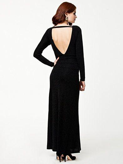 Bettyblue Long Dress - Vila - Sort - Festkjoler - Tøj - Kvinde - Nelly.com