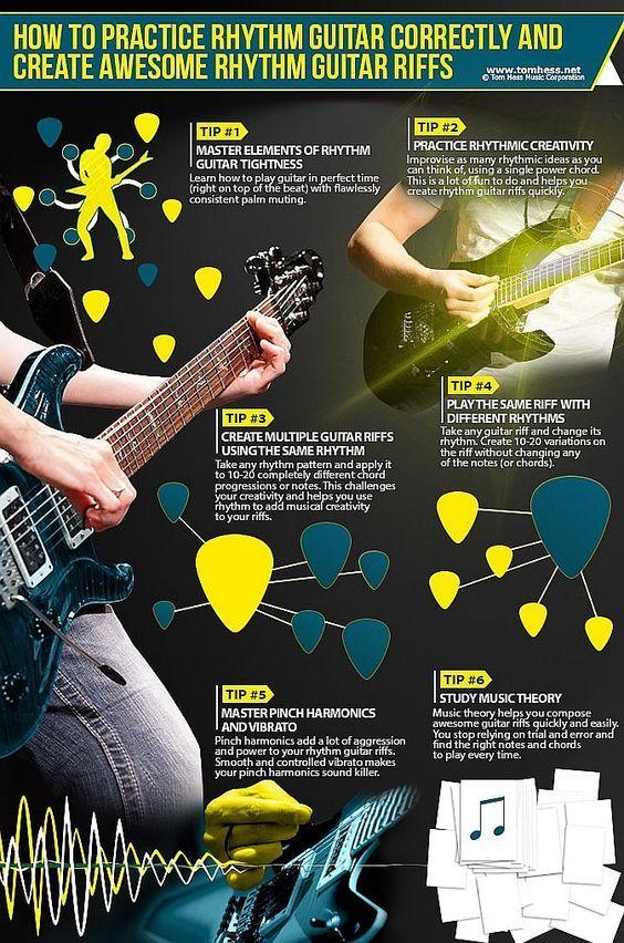 Rhythm Guitar Playing Lesson Rhythm Guitar Riffs Guitars And