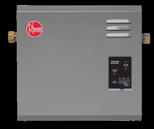 Rheem Rte 27 Tankless Electric Water Heater Electric Water Heater Tankless Water Heater Electric Water Heater