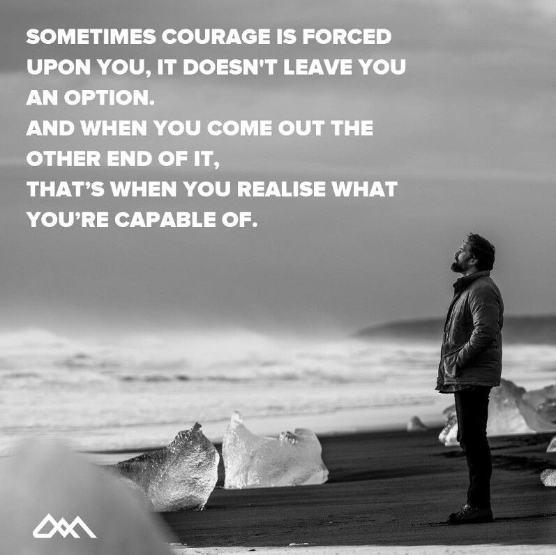 Courage quote Winning quotes, Courage quotes