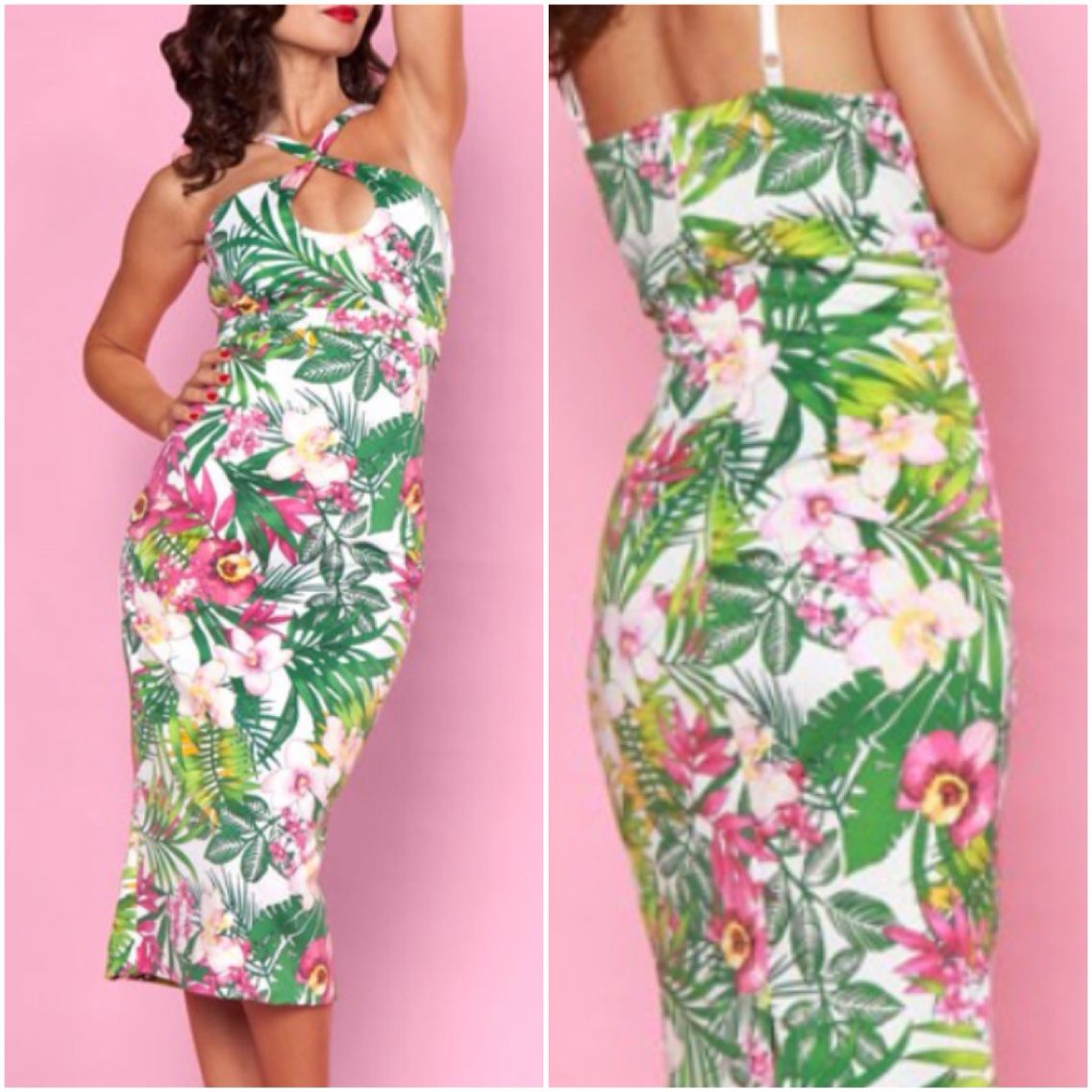 Summer is Tiki Time!! Stop in for this sexy little number at Endless Indulgence Retro Wear.