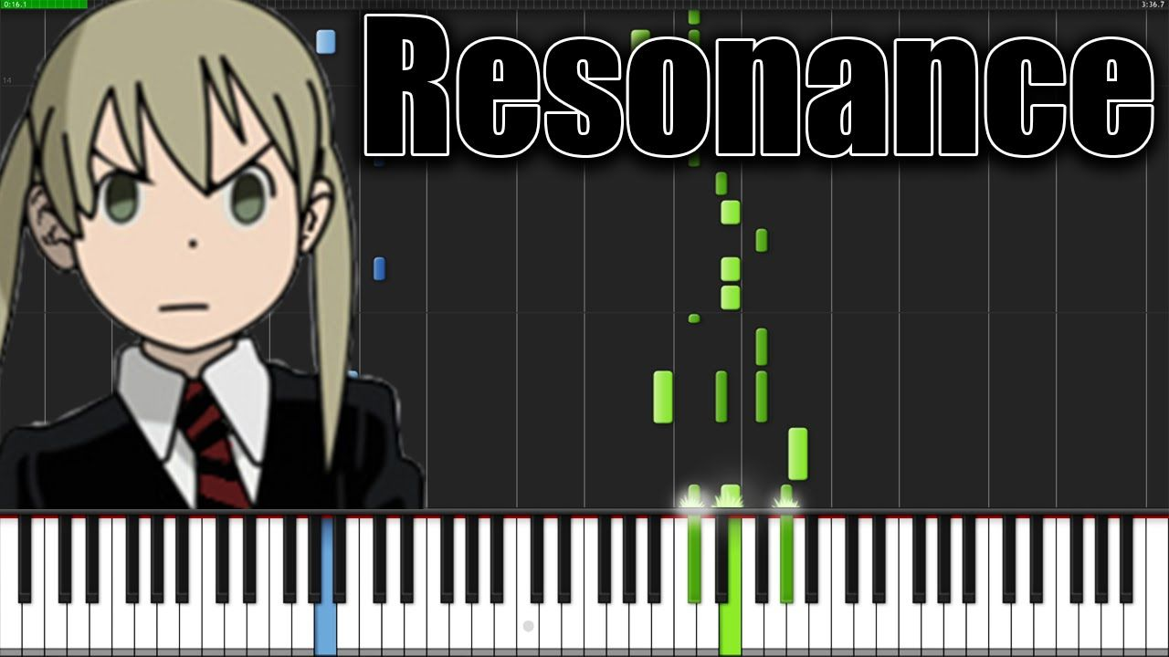 Resonance - Soul Eater (Opening 1) [Piano Tutorial