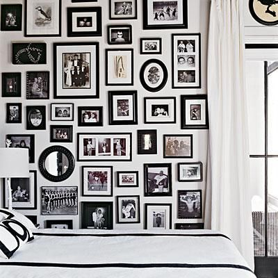 gallery walls pictures prints and collection collages saturday inspiration ideas - Bedroom Photography Ideas