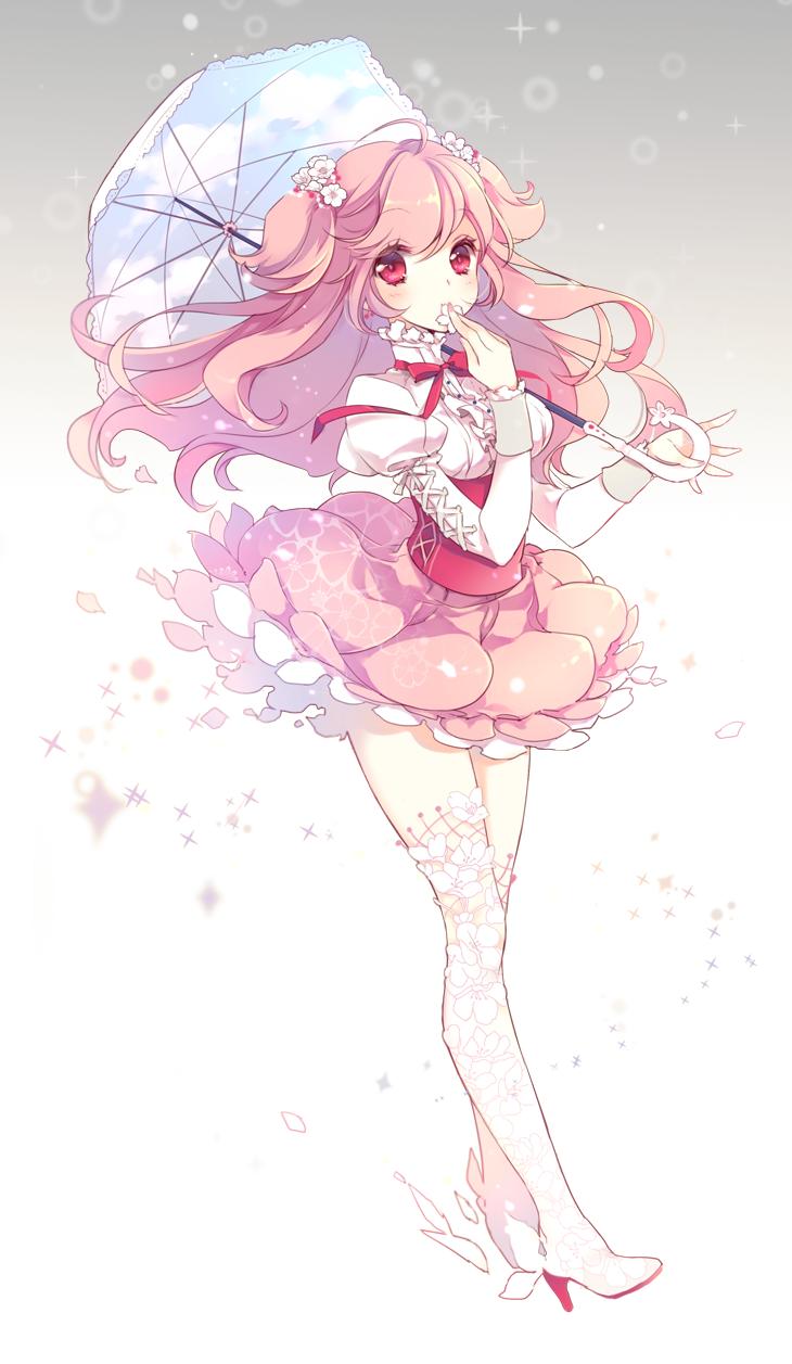 Anime Cloud Photo Anime Blossom Cookies Anime Images