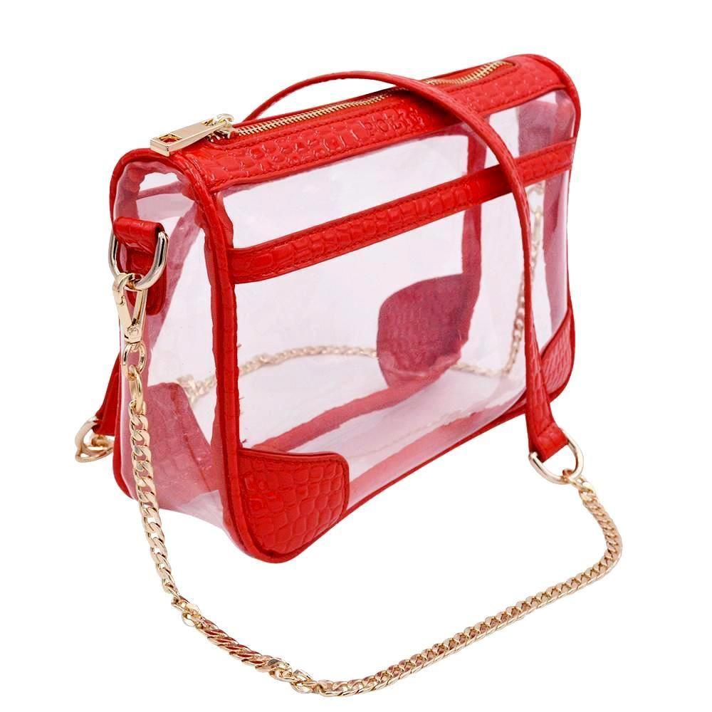 The Drake - Red Dragon - Clear Bag Handbags - stadium approved handbags - clear  handbags - policy bags - clear bag policy - clear bags - clear bag - stadium  ... e070a9b285a79