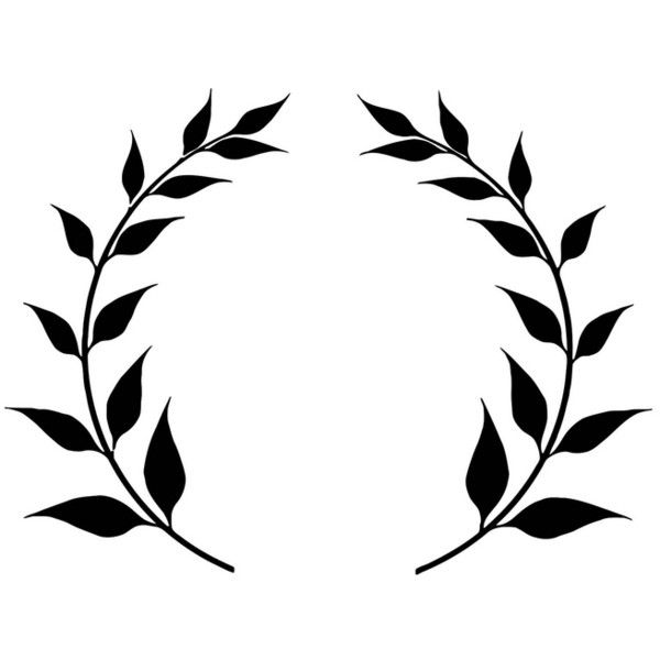 Coloring page laurel leaf crown free printable for Laurel leaf crown template