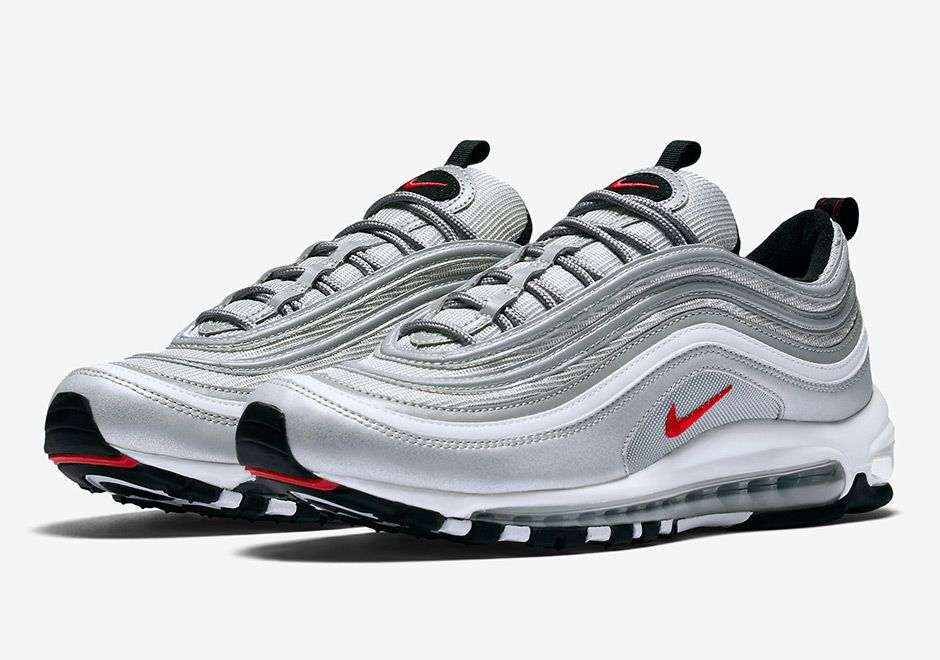 """sneakers  news Nike Air Max 97 """"Silver Bullet"""" Restocking On Black Friday 23b64c7d10"""